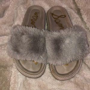 Fluffy Sam Edelman Sandals